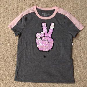 Abercrombie Kids Girl's tee